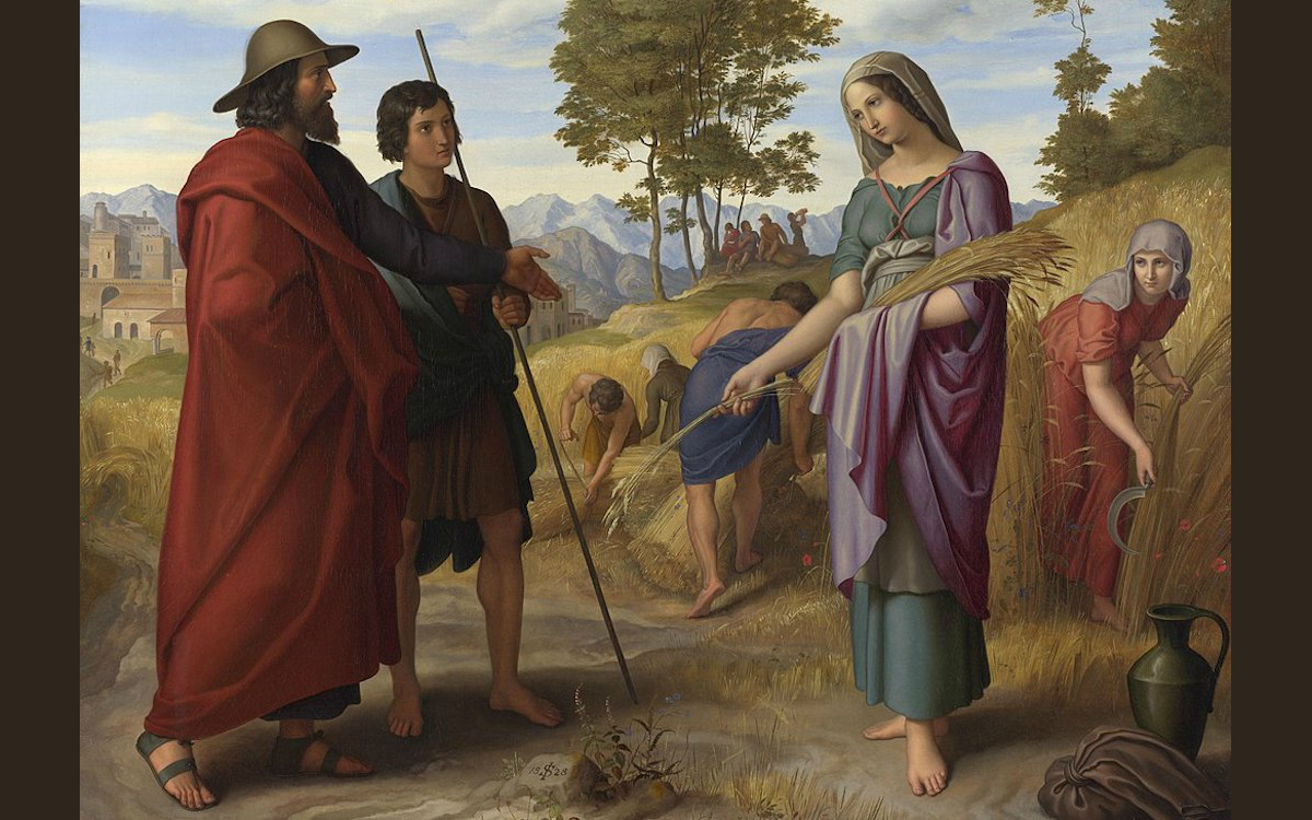 Would ruth be accepted as a convert today francis nataf the blogs ruth on the fields of boaz by julius schnorr von carolsfeld cropped cc fandeluxe Choice Image