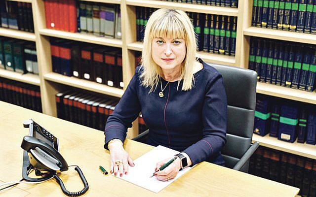 Marie van der Zyl, Board president