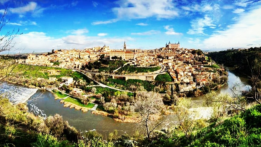 Toledo city of legends ticia verveer the blogs view of the walled city of toledo ticia verveer fandeluxe Choice Image