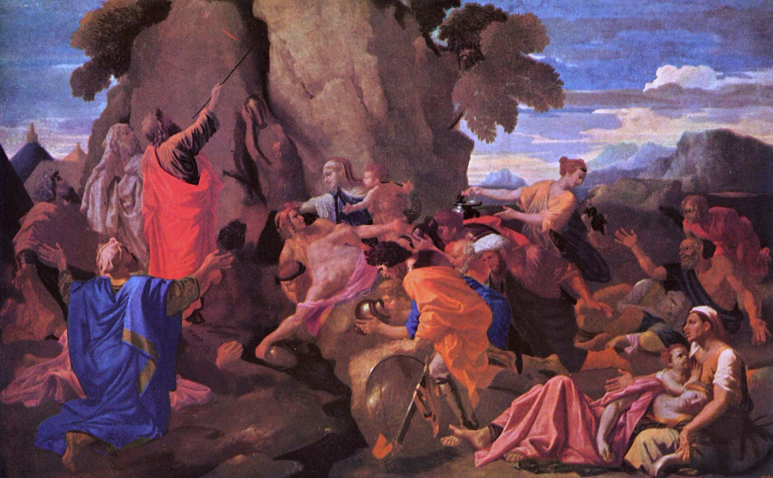 The Consolations Of Mortality Hukat Covenant Conversation 5778 Fileac Voltage Detector Equivilant Circuitjpg Wikimedia Commons Moses Striking Water From Rock By Nicolas Poussin 1649