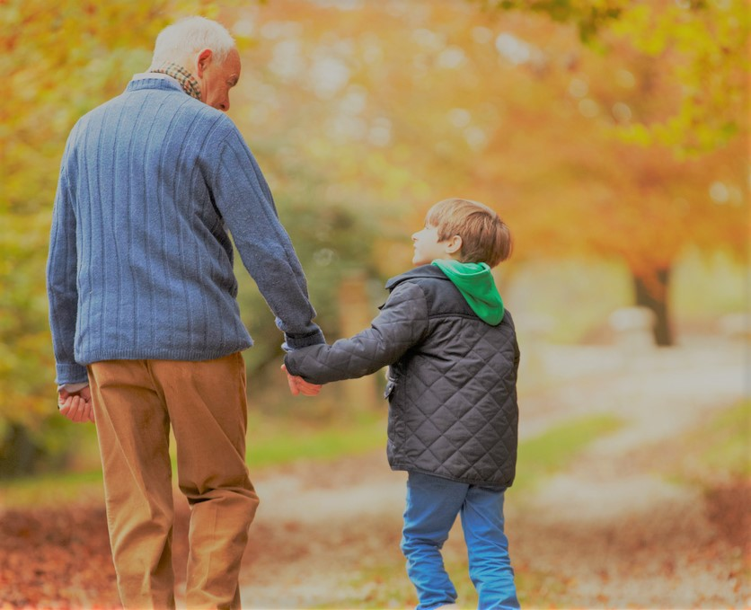 Image result for grandfather and grandson