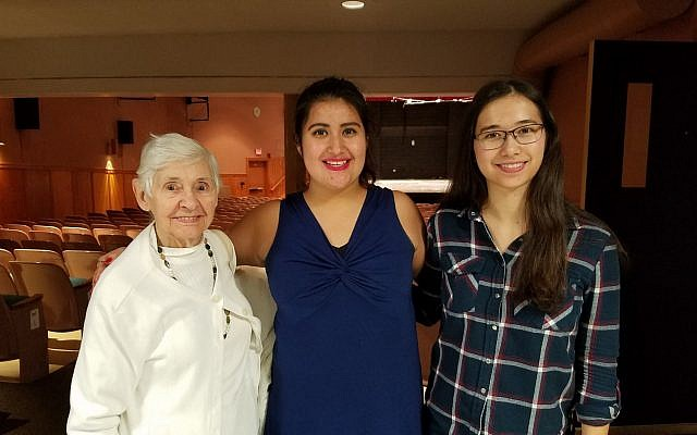TRTN Fellows Goretty Chavez and Laurel Stickney, who both are students at Wellesley College, attended a concert with a Boston-area survivor in the fall.