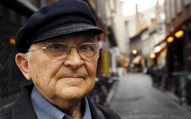 TOULOUSE;FRANCE - JUNE 17:  Israelian author Aharon Appelfeld poses while visiting a book fair in Toulouse, France on the 17th of June 2006. (Photo by Ulf Andersen/Getty Images)