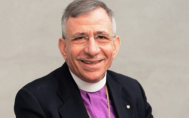 Bishop Dr Munib A. Younan. (courtesy)