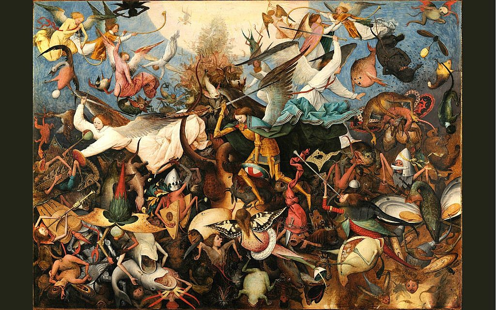 """The Fall of the Rebel Angels"" by Pieter Bruegel the Elder (Cc)"