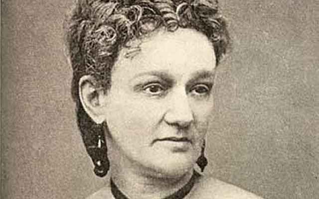 Confederate Jewish spy Eugenia Levy Phillips. Source: Jewish Women's Archive