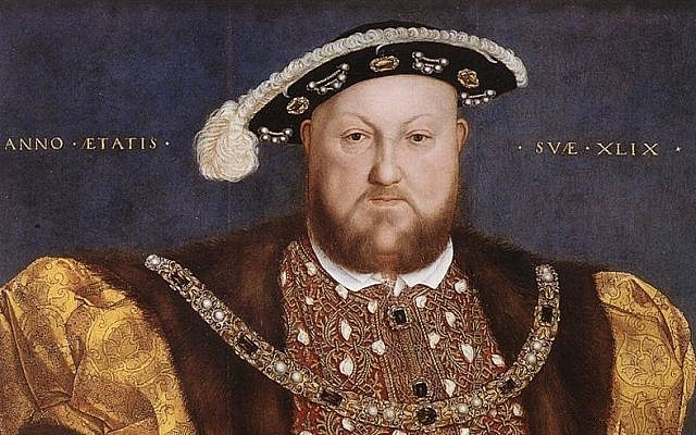 Portrait of Henry VIII by Hans Holbein. (Public domain, Wikimedia Commons)
