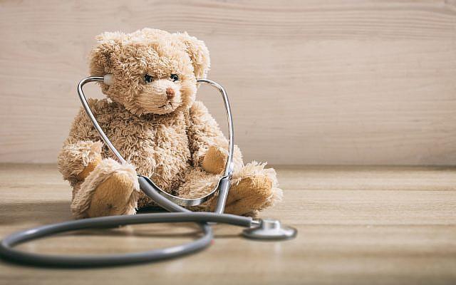 Illustrative. Teddy bear with stethoscope. (iStock)