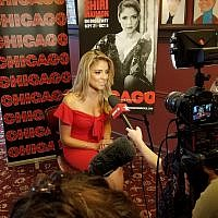 Shiri Maimon is interviewed by Broadway.com, September 7, 2018 (Photo Credit: Josh Shron)