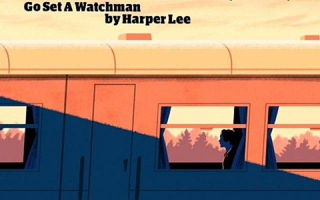 Illustration by Tom Clohosy Cole made for The Guardian in anticipation of the release of Harper Lee's second book in 2015.