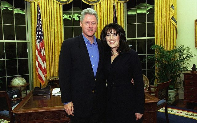 Monica Lewinsky recently walked off the stage during an interview in Jerusalem after being asked about former President Bill Clinton apologizing to her demonstrating just how sensitive a topic forgiveness is in the #MeToo era. Source: Wikimedia Commons