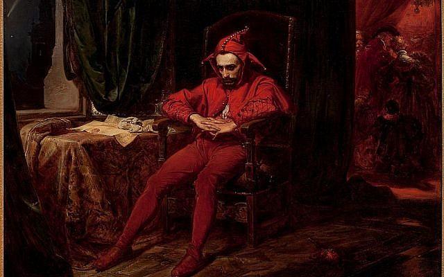 Illustrative. The classic 'wise-fool,' in Stańczyk, by Jan Matejko, 1862. (Wikipedia)