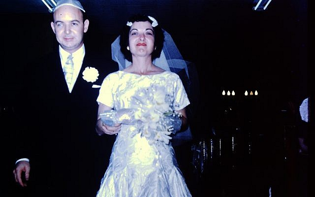 Mark and Shirley Wallach, their special day.