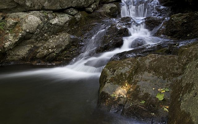 Illustrative. Waterfall from the rocks. (Pixnio)