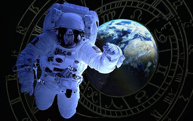 Illustrative: An astronaut with Earth in the background. (Public domain/pxhere)