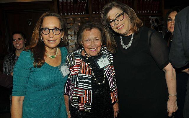 Lenore Ruben, Elem president; Ann Bialkin, an Elem founder and chairwoman; and Lori Gosset, vice president. (Tim Boxer/JW)