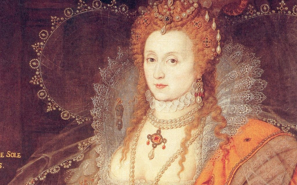The so-called Rainbow Portrait of Queen Elizabeth I painted by Marcus Gheeraerts the Younger. (Public Doman/ Wikimedia Commons)