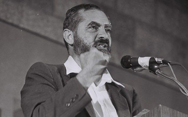 Rabbi Meir Kahane. (Yossi Zamir/Flash90)