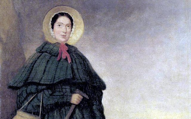 Painting of Mary Anning from the National History Museum, London. (Public Domain/ Wikimedia Commons)