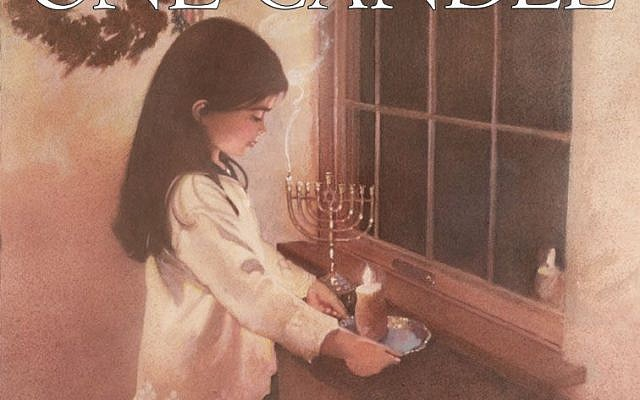 One Candle, by Eve Bunting, Illustrated by K. Wendy Popp.