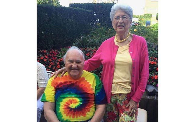 Bernice Simon, 84, and Sylvan Simon, 87.