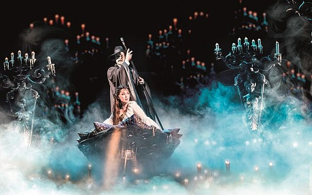 Phantom of the Opera, London, 2017, Credit: Johan Persson
