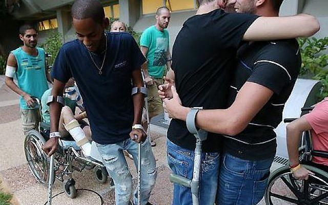 Illustrative. IDF disabled vets, September 2, 2014. (Facebook, Friends of Israel Disabled Veterans, Inc.)