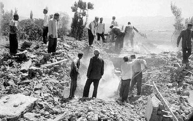 More than 12,000 people were killed when an earthquake hit Iran's Qazvin region in September, 1962