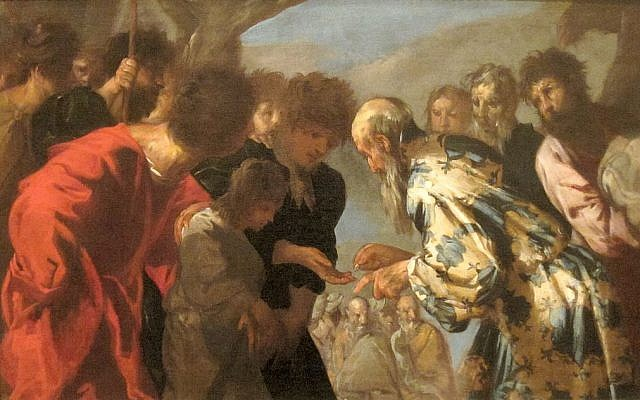 Joseph Sold by His Brothers, by Francesco Maffei, c. 1657-8. (Wikimedia Commons)