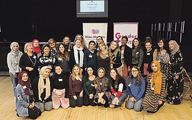 Thirty Jewish and Muslim women unite