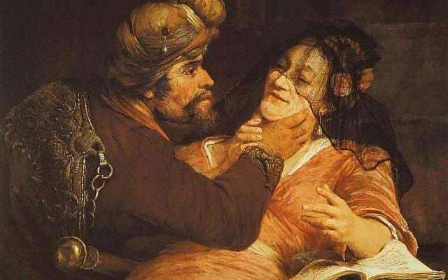 Tamar and Judah, by Aert de Gelder, 1667. (Wikipedia)