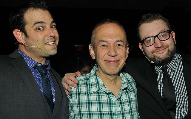Jamie Elman, Gilbert Gottfried and Eli Batalion