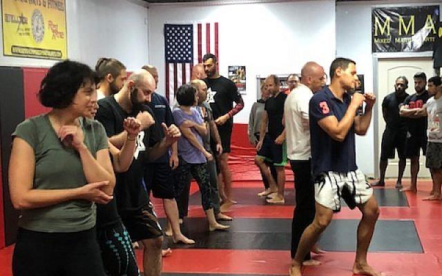 Jewish self defense with Legion Alpha