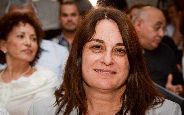 Rona Ramon, who died on December 17, 2018. She was the widow of first Israeli astronaut Ilan Ramon who died in a fatal accident aboard the space shuttle Columbia on May 9, 2013. (Flash90)
