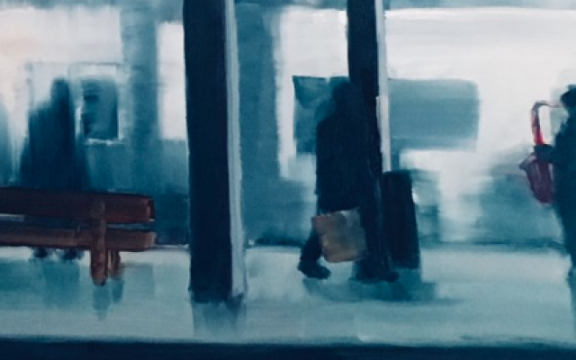 Subway Sax Man by Bertram Lewis.