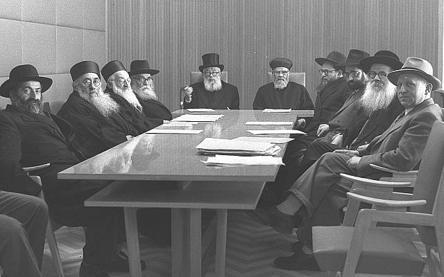 The Chief Rabbis in holier times