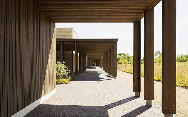 Bushey Cemetery, Herts, designed by Waugh Thistleton Architects, which has been shortlisted for the Riba Stirling Prize,   Photo credit: Lewis Khan/RIBA/PA Wire