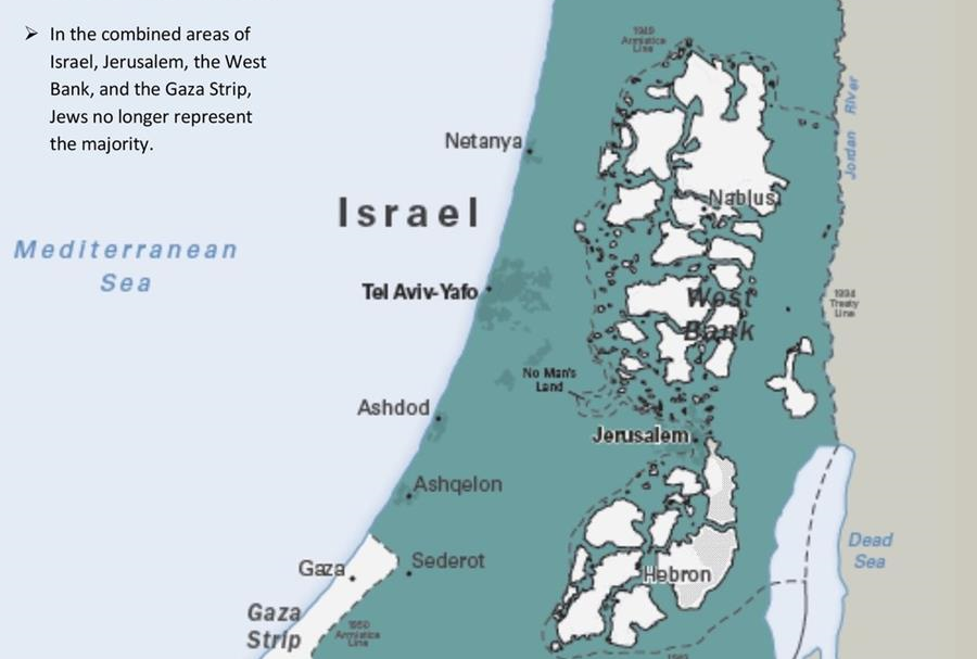 Potemkin Village Of Palestine No Israel Has Not Already Separated - Us-map-separated-by-region