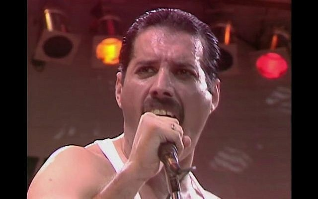 Freddie Mercury, live at LIVE AID, July 13, 1985. (YouTube)