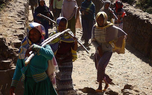 Ethiopians on pligrimage. (Courtesy)