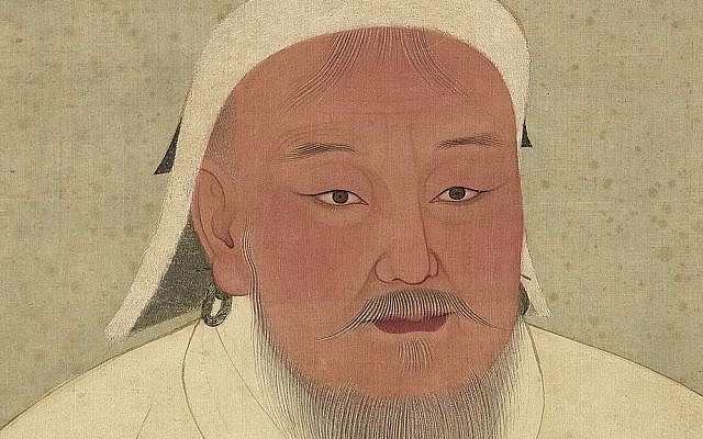 Genghis Khan as portrayed in a 14th-century Yuan era album. (Public Domain/ Wikimedia Commons)