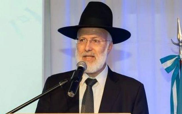 Chief Rabbi of Argentina, Rabbi Gabriel Davidovich