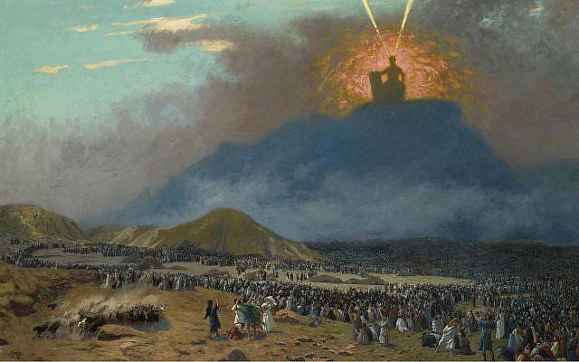 Moses on Mount Sinai, Jean-Léon Gérôme, 1895-1900