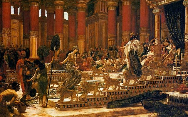 'The Visit of the Queen of Sheba to King Solomon', by Edward Poynter, 1890. (Public Domain, Art Gallery of New South Wales/ Wikimedia Commons)