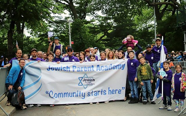 RSJ community marches with JPA in the Israel Day Parade