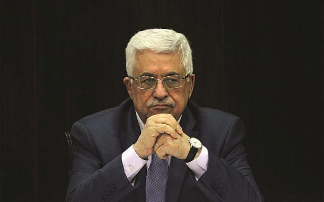 Palestinian President Mahmoud Abbas   (Jewish News - AP Photo/Issam Rimawi, Pool)