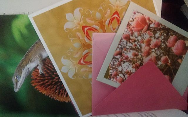 """Handwritten cards received from a rabbi who has since been Suspended for sexual misconduct. The cards offer a glimpse into the tangible """"beauty"""" of the more pleasant phases of the abuse cycle."""
