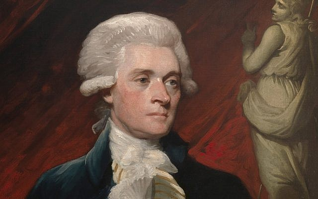 Portrait of Thomas Jefferson while in London in 1786 by Mather Brown. (Public Domain/ Wikimedia Commons)