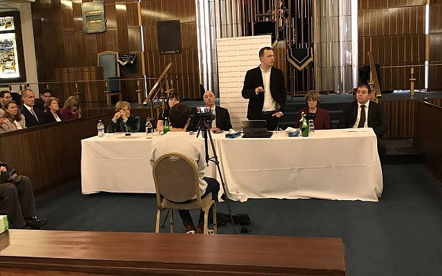Peter Mason addressing the JLM Extraordinary General Meeting (JLM on Twitter)