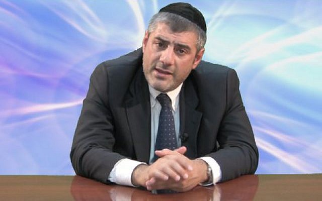 Rabbi Yosef Mizrachi (Jewish News via Facebook)
